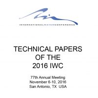 IWC 2016 Technical Papers